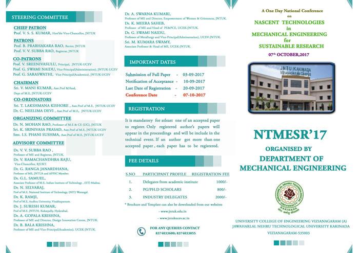 NTMESR'17