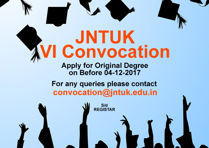 VI-Convocation